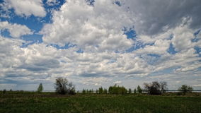 Timelapse clouds, FULL HD. stock footage