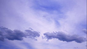 Timelapse of clouds stock video footage