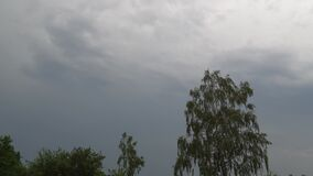 Timelapse cloudy sky. summer storm sky.  stock video footage