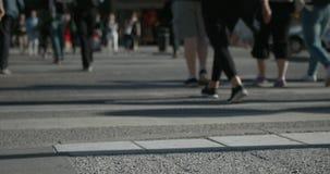 Timelapse d'intersection à Stockholm urbain clips vidéos