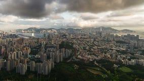 Timelapse da arquitetura da cidade de Hong Kong filme