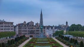 Timelapse de Bruselas almacen de video