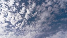 Timelapse de Cloudscape metrajes