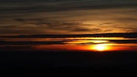 Timelapse de coucher du soleil clips vidéos