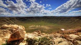 timelapse de 4K UltraHD A en el cráter del meteorito en Arizona