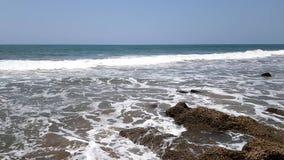 Timelapse de la côte pierreuse de la Mer d'Oman clips vidéos