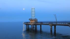 timelapse de la noche de 4K UltraHD de Brant St Pier en Burlington, Canadá almacen de video