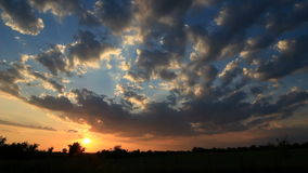 Timelapse de la puesta del sol