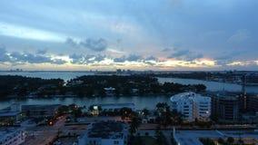 Timelapse de la puesta del sol almacen de metraje de vídeo