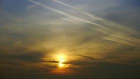 Timelapse de la salida del sol metrajes