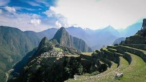 Timelapse de la ville inca perdue de Machu Picchu près de Cusco, Pérou clips vidéos