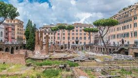 Timelapse de Largo di Torre Argentina en Roma metrajes