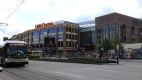 Timelapse de peu d'arène de Caesars à Detroit Michigan 4K