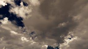 Timelapse de Skyscape Fotografia de Stock