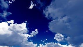 Timelapse de Skyscape Imagens de Stock Royalty Free