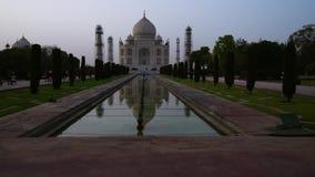 Timelapse de Taj Mahal, Agra la India metrajes