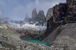 Timelapse de Torres del Paine almacen de metraje de vídeo