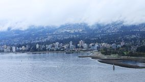 Timelapse de Vancouver del norte, Canadá 4K almacen de metraje de vídeo