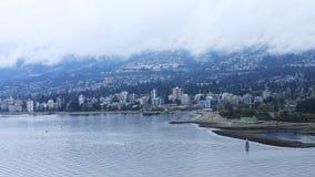 Timelapse de Vancouver du nord, Canada 4K banque de vidéos