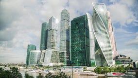 Timelapse de ville de Moscou banque de vidéos