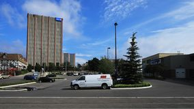 Timelapse del centro di Marsland in Waterloo, Canada 4K stock footage