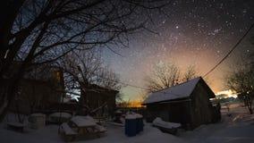 Timelapse del cielo estrellado