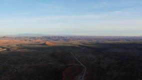 Timelapse del desierto y de los barrancos en Utah metrajes