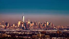 Timelapse del Lower Manhattan metrajes