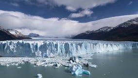 Timelapse del Perito Moreno Glacier video d archivio