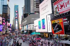 Timelapse del Times Square almacen de video