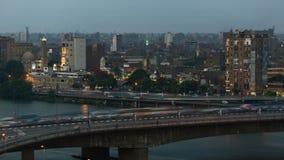 Timelapse del tráfico de El Cairo