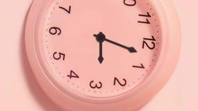 Timelapse der Uhr stock abbildung