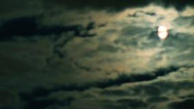 Timelapse des nächtlichen Himmels stock video