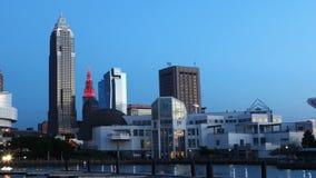 Timelapse di Cleveland, Ohio 4K del centro archivi video