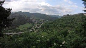 Timelapse di estate, zona di Acquasanta Terme, Italia video d archivio