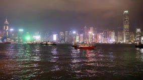 Timelapse di Hong Kong archivi video