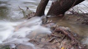 Timelapse di La Bresque, un piccolo fiume nel sud della Francia video d archivio