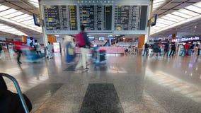 Timelapse di Monas o di programma di ParkDeparture del monumento nazionale nell'aeroporto Singapore di Changi stock footage