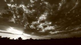 Timelapse di tramonto video d archivio