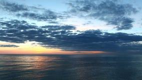 timelapse di tramonto di 4K UltraHD fuori dalla costa di Florida archivi video