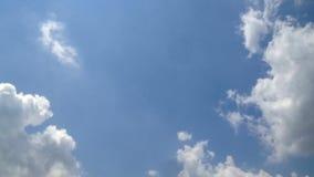 Timelapse do céu e da nuvem video estoque