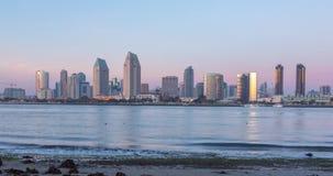 Timelapse do centro de San Diego, Califórnia EUA vídeos de arquivo