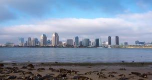 Timelapse do centro de San Diego, Califórnia EUA filme