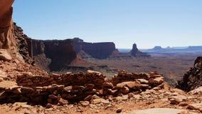 Timelapse do deserto e das gargantas em Utá vídeos de arquivo