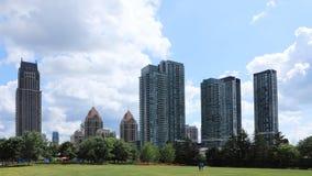 Timelapse do Mississauga, skyline 4K de Canadá vídeos de arquivo
