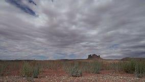 Timelapse Dolly Shot in Monument National Park stock video
