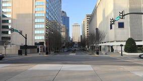 Timelapse escena 4K de la calle de Nashville, Tennessee almacen de metraje de vídeo