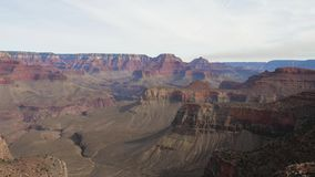A Timelapse Of The Famous Grand Canyon In Arizona, USA stock footage