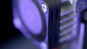 Timelapse Funcionamiento tridimensional de la impresora Primer extremo metrajes