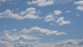 timelapse inchado da nuvem 6K vídeos de arquivo